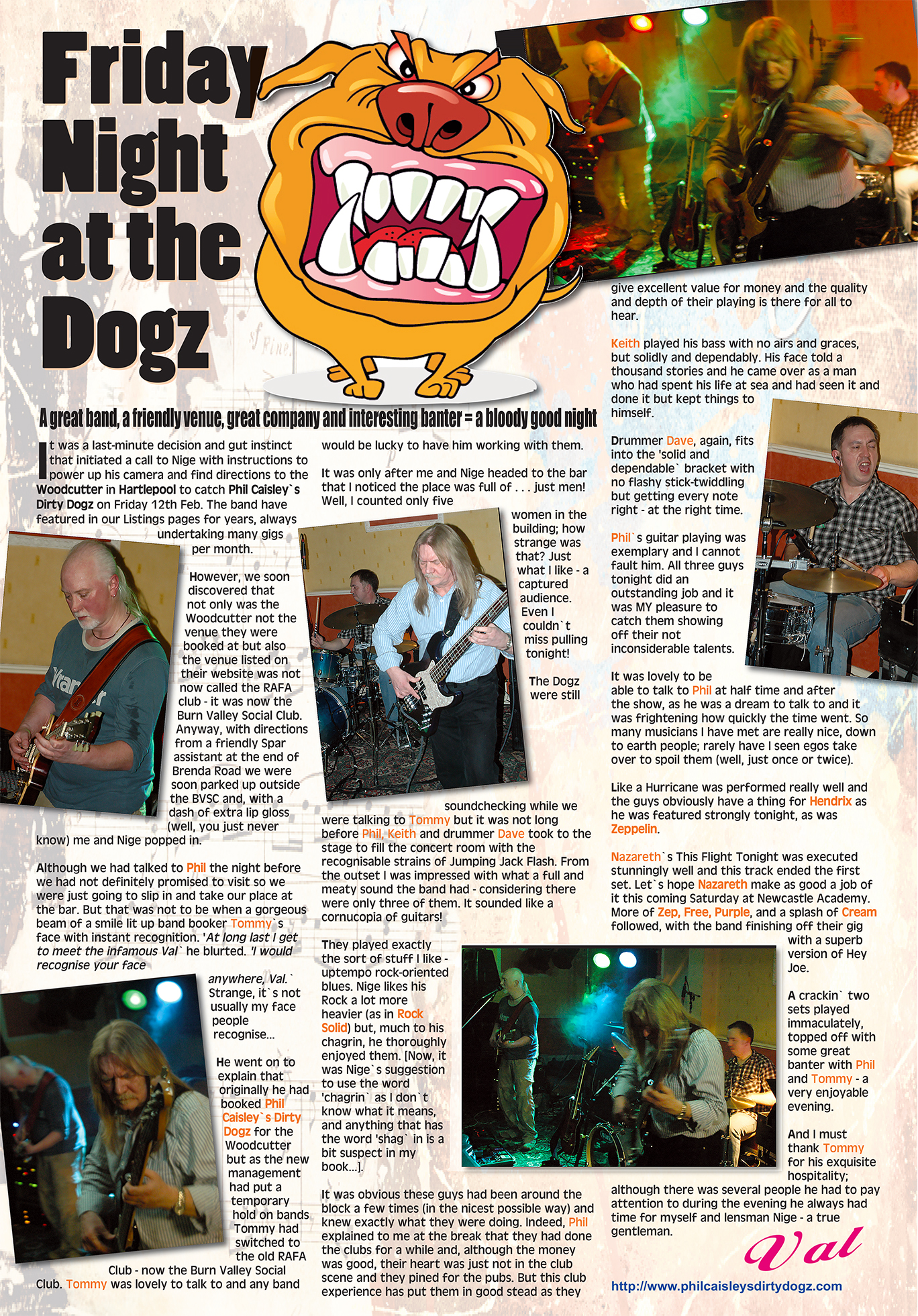 News from the live music scene in the north east